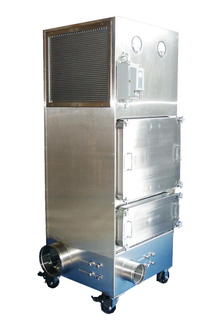 Mobile Hepa Filtered Ventilation