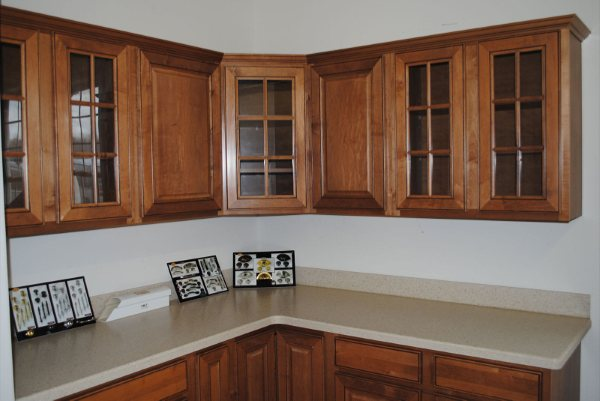 We Offer A Large Selection Of Cabinets From Aristokraft,  Norcraft,Contractors Choice And Wolf Classic Cabinets. We Also Offer Solid  Surface, Laminate And ...